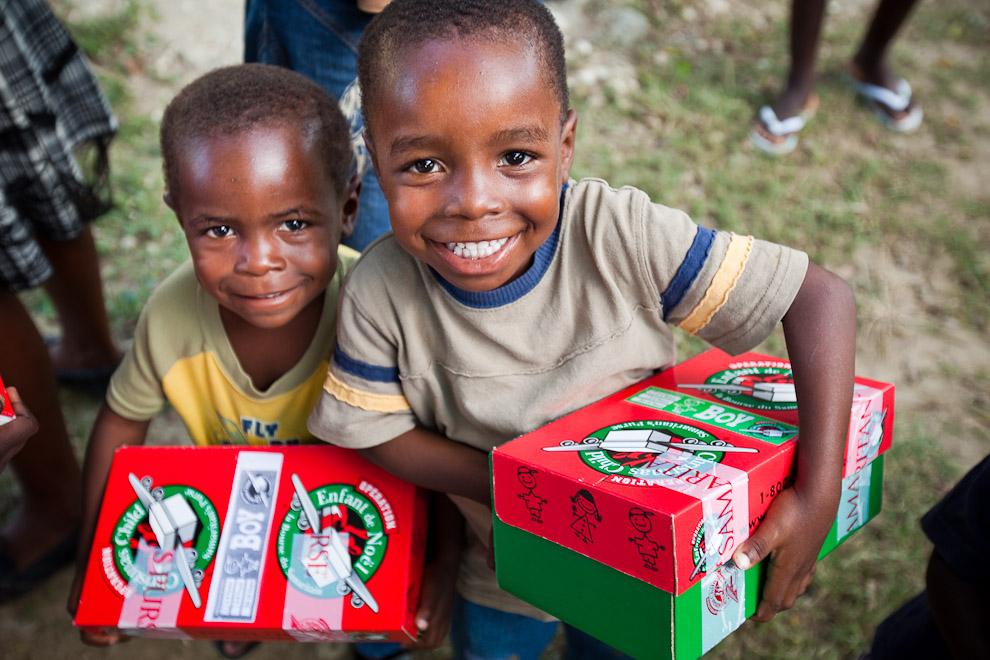 Charitable Giving - Operation Christmas Child | Kim Joy Fox