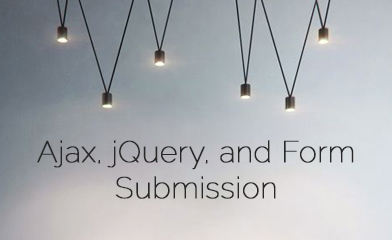 Ajax, jQuery, and Form Submission