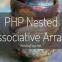 PHP Nested Associative Arrays