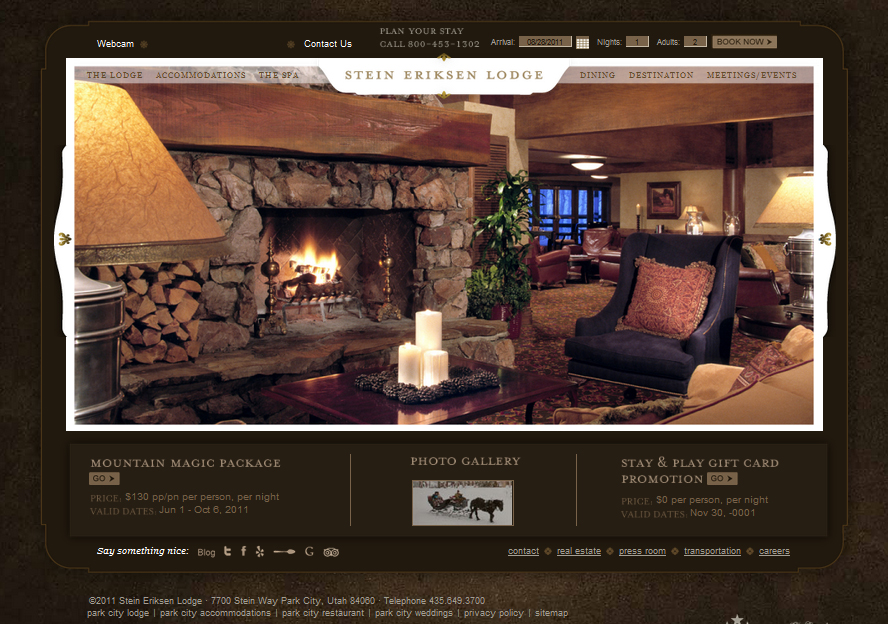 Design Critique: Stein Lodge