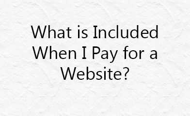 what is included when i pay for a website fox