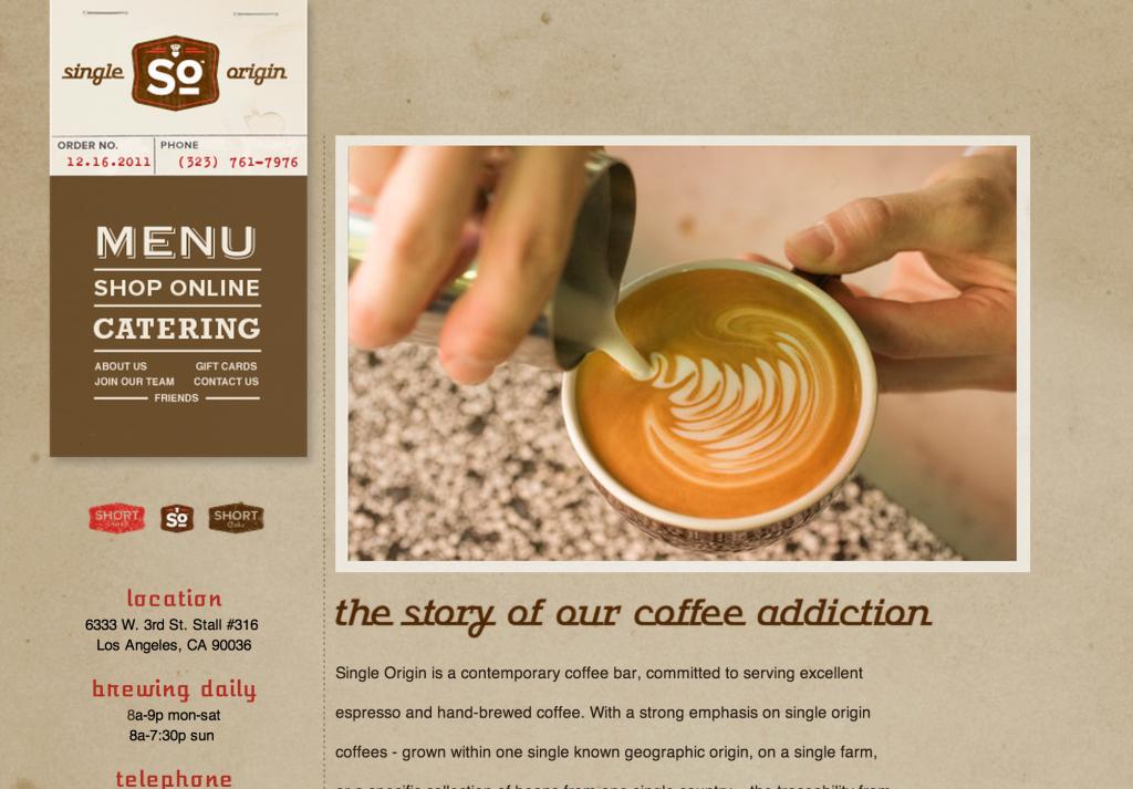 Best LA Coffee Shops - Single Origin LA