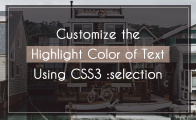 Customize the Highlight Color of Text Using CSS