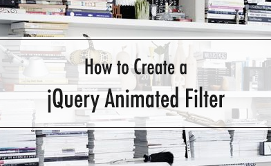 jquery Animated Filter