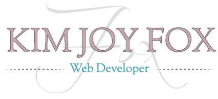 Kim Joy Fox Web Developer