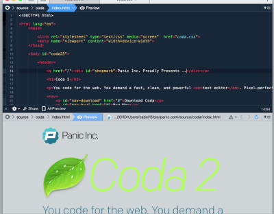Moving to Coda from Dreamweaver: The Highs and the Lows