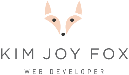 Kim Joy Fox Web Developer
