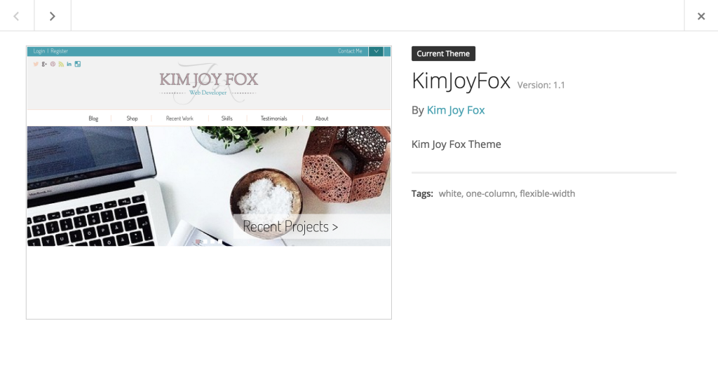 How to rebrand a wordpress theme for Wordpress template folder
