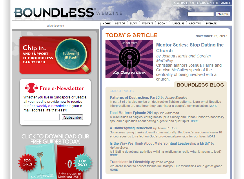 Boundless Magazine Design Critique