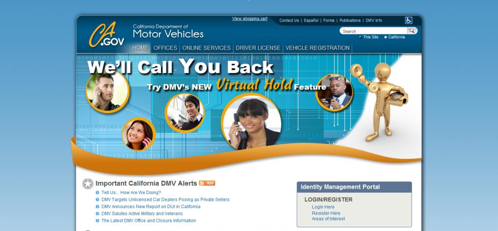 Best Website Design - California DMV