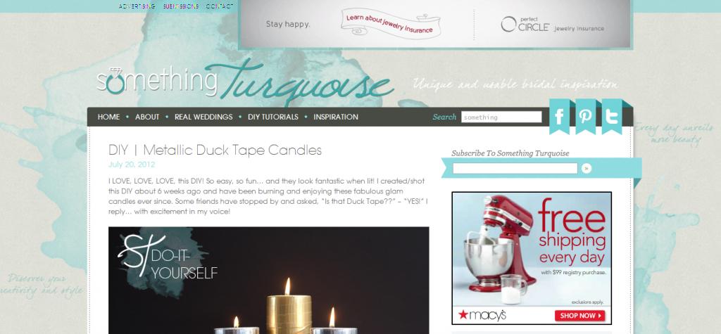 Design Critique: Something turquoise - wedding