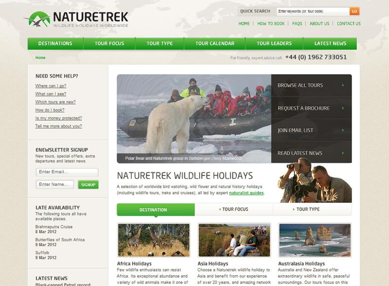 Design Critique: Nature Trek