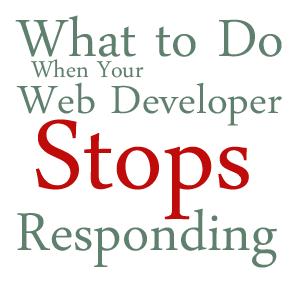 Web Developer Stops Responding